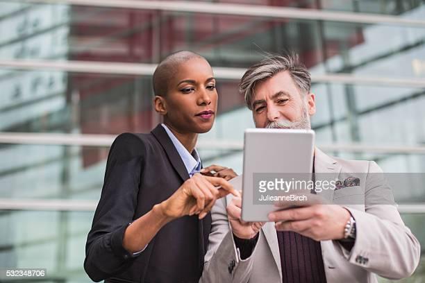Deux professionnels