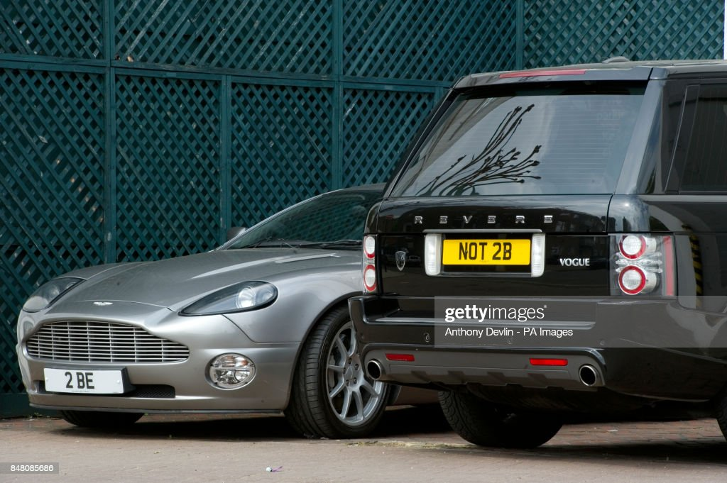 Shakespearean Car Number Plates Pictures | Getty Images