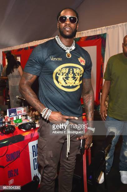 Two Chainz attends day two of the 2018 BET Awards Radio Remotes on June 23 2018 in Los Angeles California