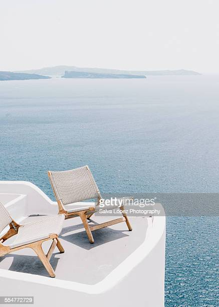 Two chairs in Oia
