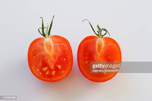 Two Cherry Tomatoes
