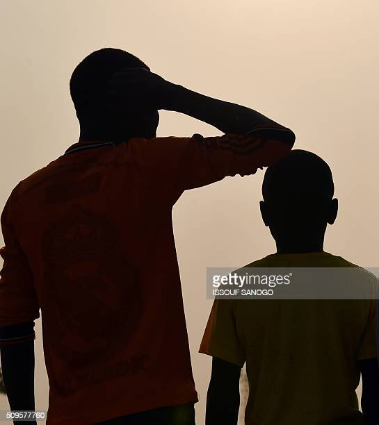 Two children living in the Internally displaced people camp of Mpoko and claiming to be victims or witnesses of sex abuses on minors by peacekeepers...