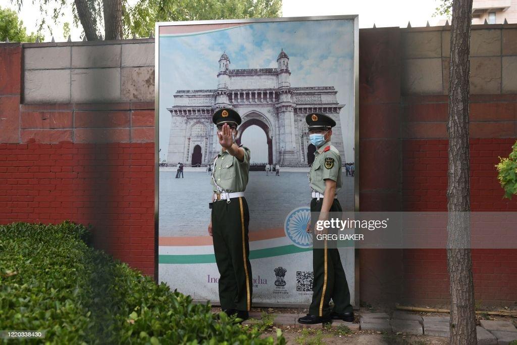 CHINA-INDIA-POLITICS : News Photo