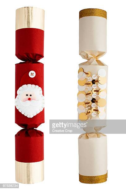 Two christmas crackers