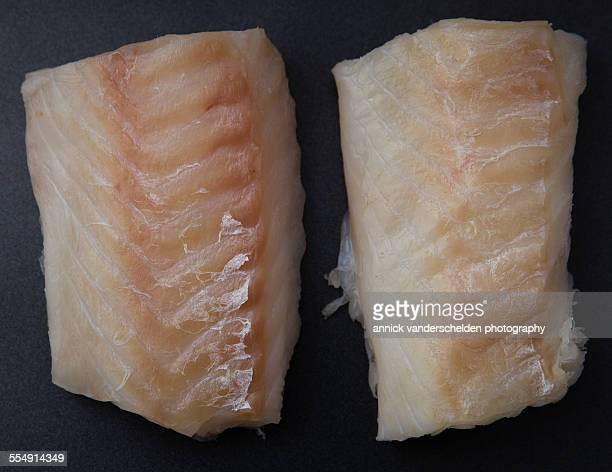 Two cod fillets