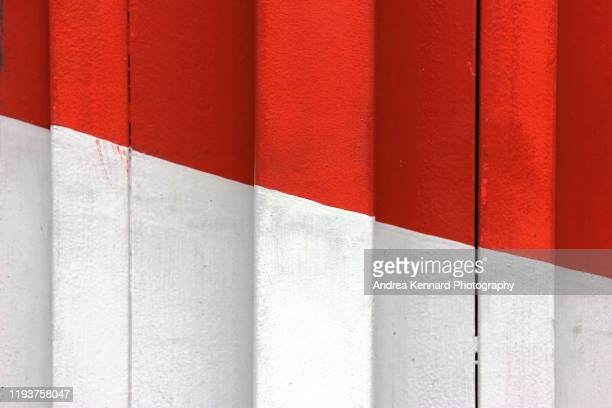two colour shop shutters - two tone color stock pictures, royalty-free photos & images