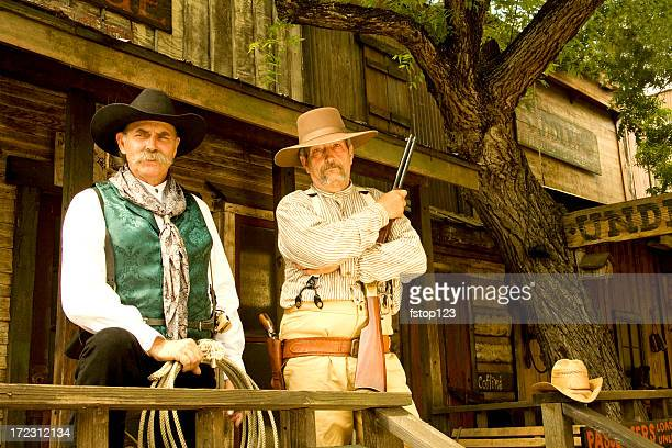 two cowboys - wild west stock pictures, royalty-free photos & images