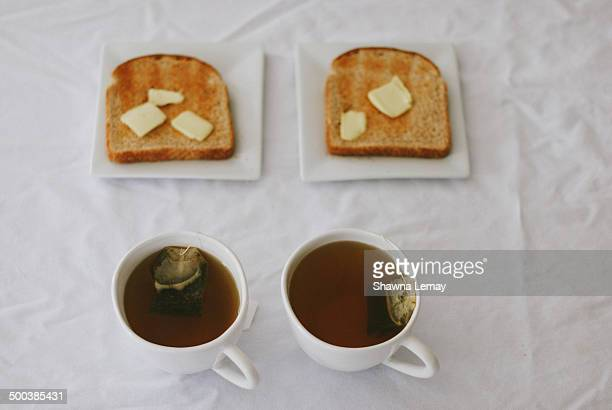 Two Cups of Tea and Two Slices of Toast