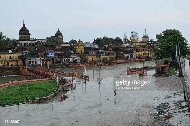 Two days after the failed Parikarma attempt by Vishwa Hindu Parishad streets in Ayodhya wears a deserted look with a majority of economical...