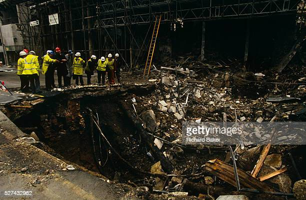 Two days after the Irish Republican Army exploded a truck bomb on Bishopsgate a main arterial road that travels northsouth through London's financial...