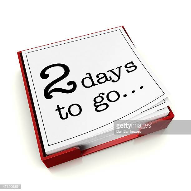 Two days to go