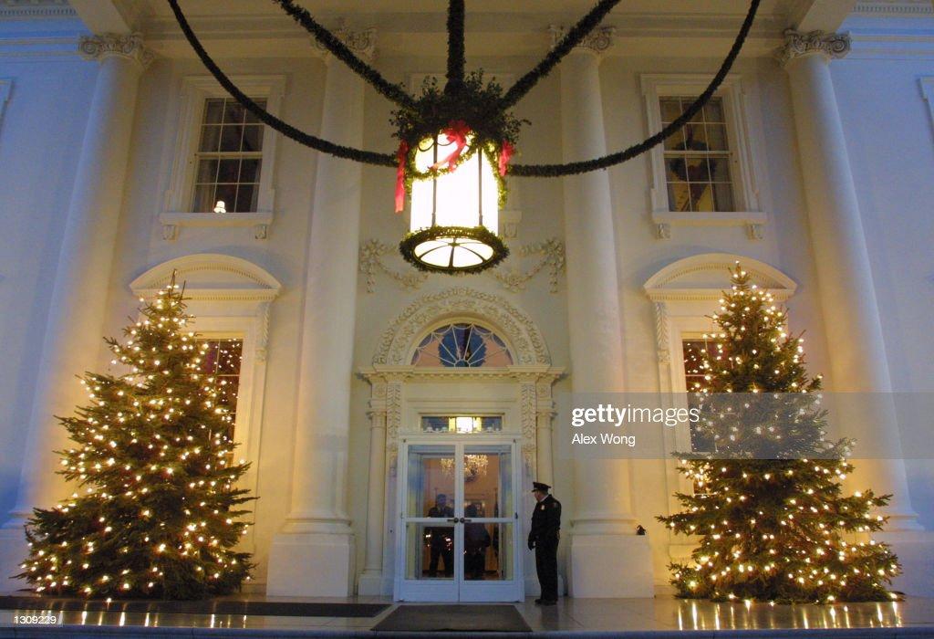 White House Christmas Decorations : News Photo