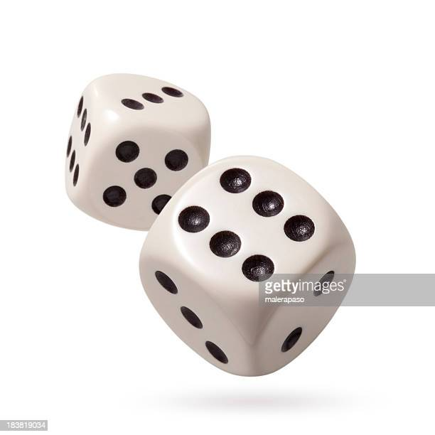 two dices - rolling stock pictures, royalty-free photos & images
