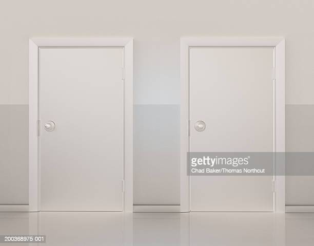 Two doors side by side (Digital)