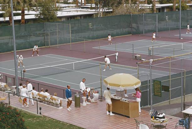 Palm Springs Tennis Club Wall Art