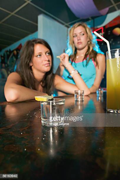 two drunk women - chav stock photos and pictures