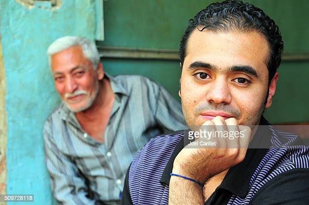 Two Egyptian men in Cairo