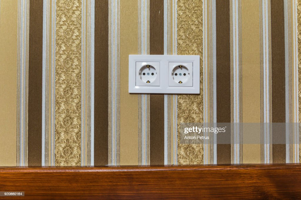 vintage electrical outlets