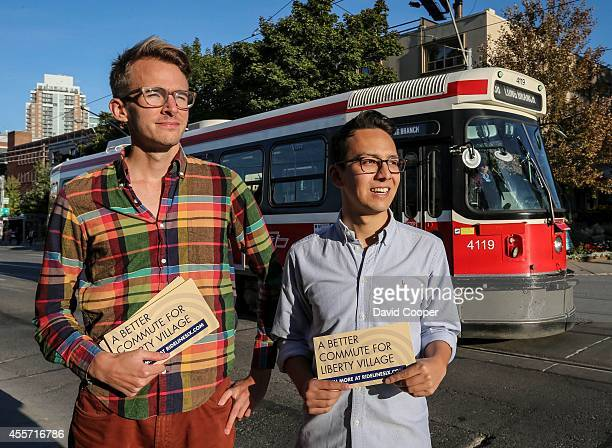 TORONTO ON SEPTEMBER 18 Two enterprising Torontonians are trying to crowdsource the money to pay for private transit from Liberty Village Brett Chang...