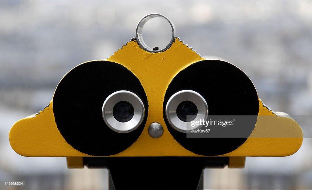 Zwei Augen : Stock-Foto