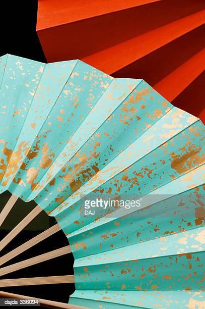 Two Folding Fan