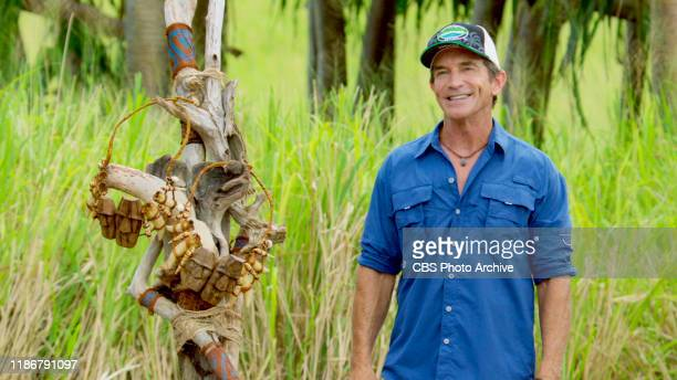 Two for the Price of One Jeff Probst on the Tenth episode of SURVIVOR Island of Idols airing Wednesday Nov 20 on the CBS Television Network Image is...