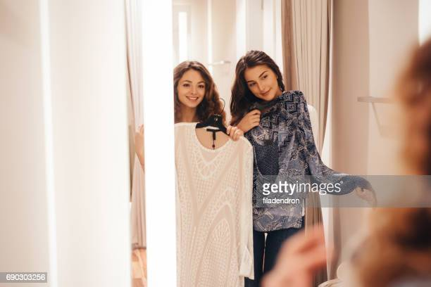Deux amis dans un vestiaire