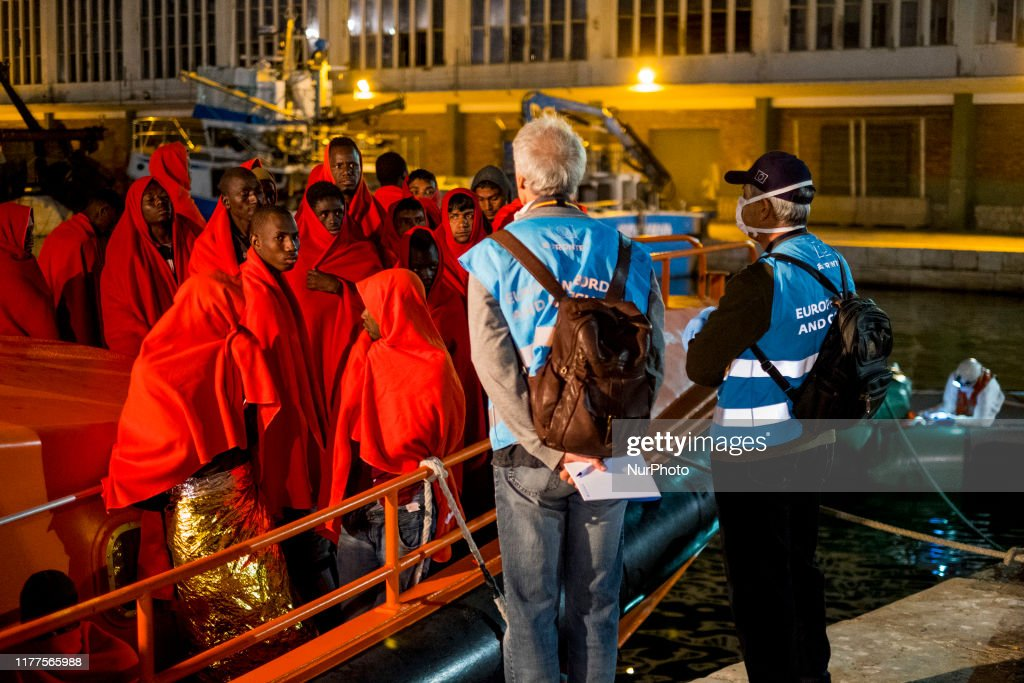 81 Persons Rescued By The Spanish Maritime : News Photo