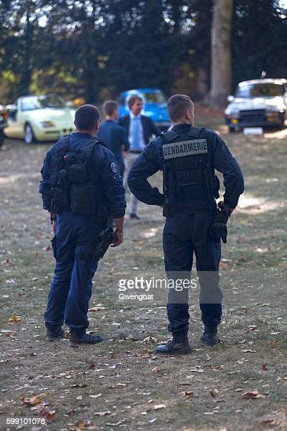 Two gendarmes on patrol