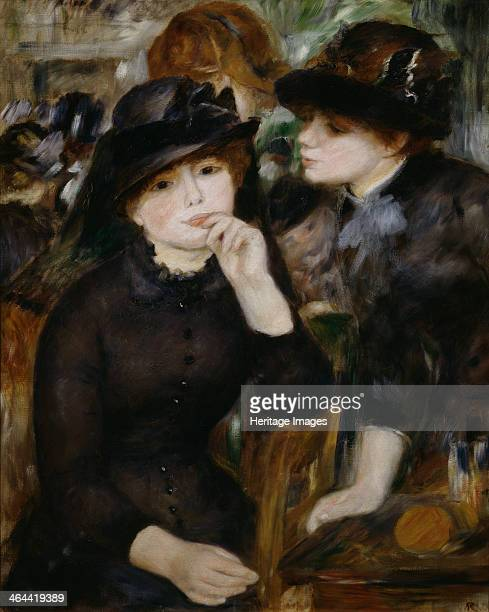 'Two Girls in Black' 18801882 Found in the collection of the State A Pushkin Museum of Fine Arts Moscow