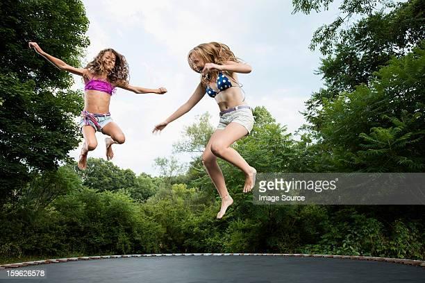 Creampie porno girls in bikinis on trampolines naked asians