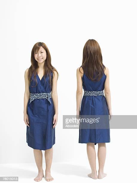 Two girls standing