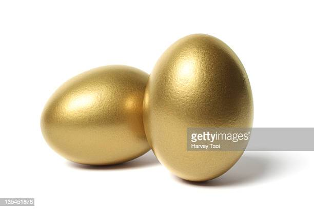 Two Gold Eggs