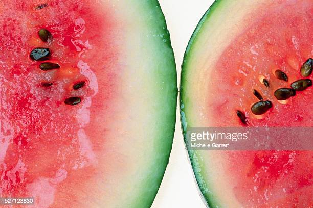 Two Halves of a Watermelon