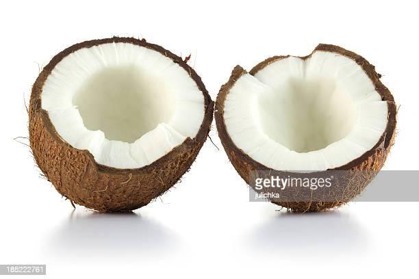 Dos mitades de coco