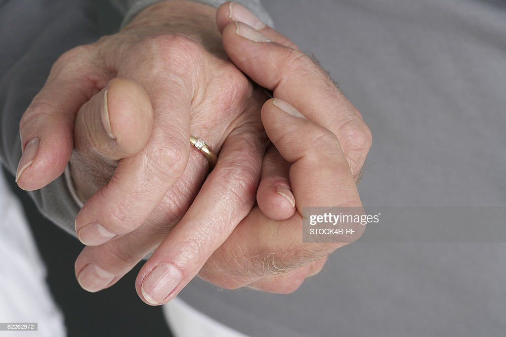 Two hands : Stock Photo