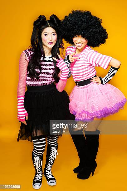 Two Harajuku girls