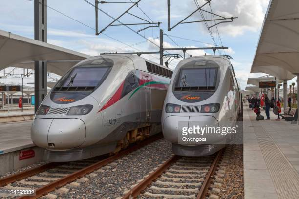 "Two high speed trains ""Al Boraq"""