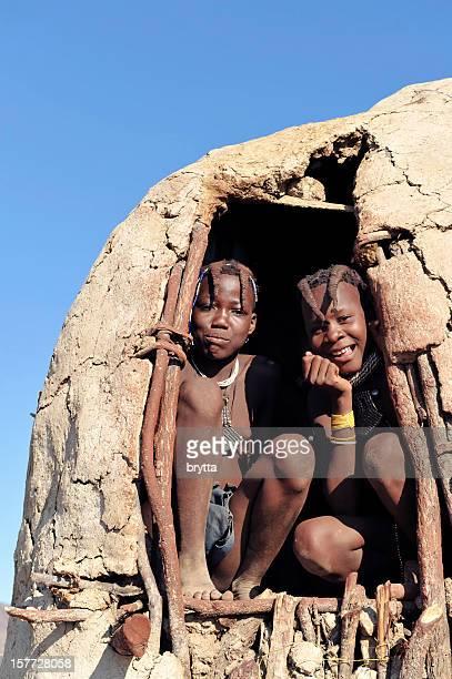 Two Himba  girls