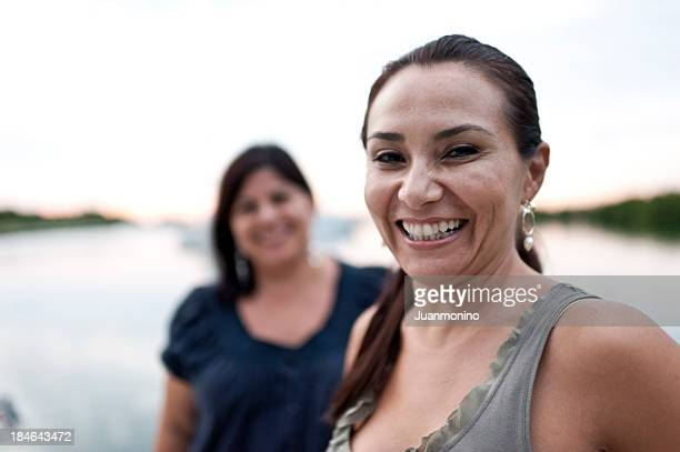 two hispanic housewives - the real housewives of. stock pictures, royalty-free photos & images