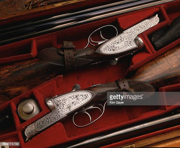 Two Holland and Holland 12 Bore Sporting Shot Guns