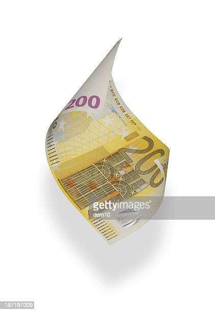 Two Hundred Euro Banknote (isolated)