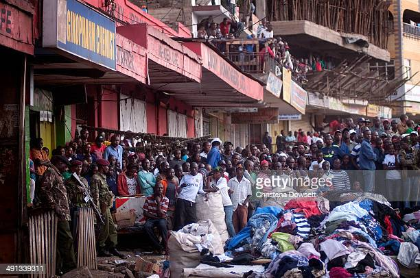 Two improvised explosive devices went off in Gikomba market on May 16 2014 in Nairobi Kenya Two improvised explosive devices were activated killing...