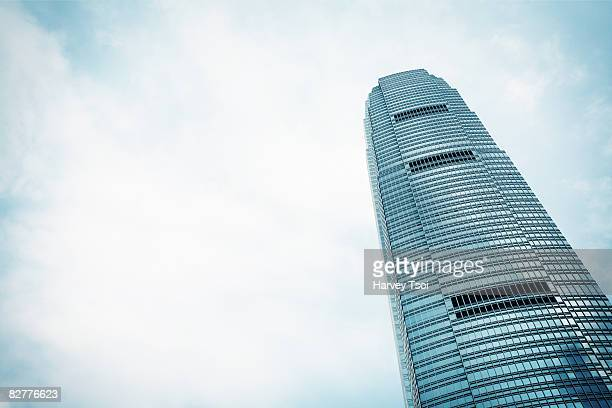 two international finance center, hong kong - two international finance center stock pictures, royalty-free photos & images