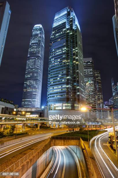 two international finance centre hong kong 2fc - two international finance center stock pictures, royalty-free photos & images