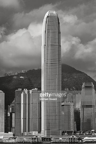 two international finance centre - michael siward stock pictures, royalty-free photos & images