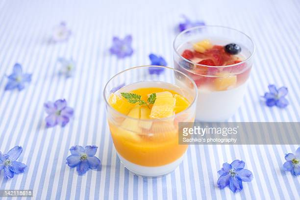 Two jelly in small cup