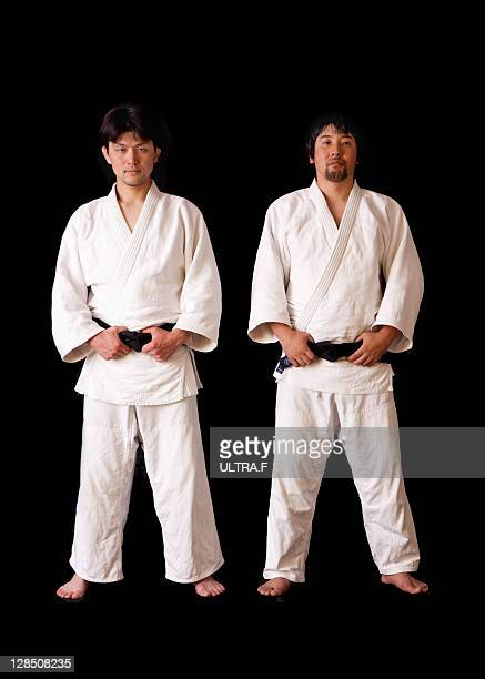 Two judoists
