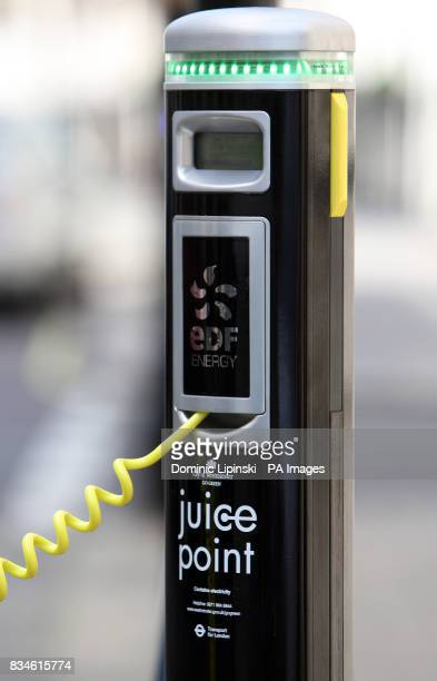 Two Juice Points for recharging electric cars on Wilton Street Westminster Westminster Council now has 12 Juice Points for owners of electric...