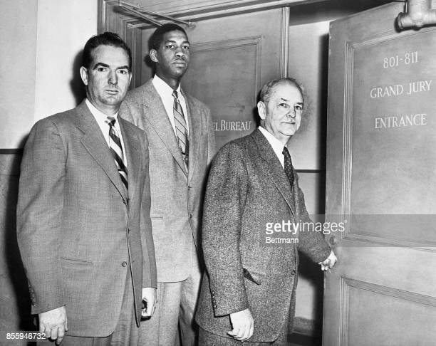 Two key witnesses at the grand jury hearing into the New York basketball scandal—coach Ken Norton of Manhattan and junior Kellogg sophomore...